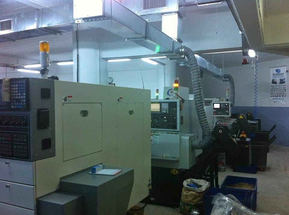 CNC kayar otomat makineleri makine parkuru